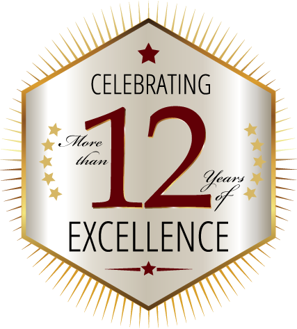 Celebrating More than 12 Years of Excellence