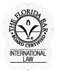 florida bar board certified expert in international law, francis m. boyer